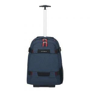 Samsonite Sonora Laptop Backpack/Wheels 55 night blue Handbagage koffer Trolley