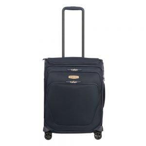 Samsonite Spark SNG Eco Spinner 55 Toppocket eco blue Zachte koffer