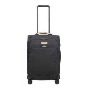Samsonite Spark SNG Eco Spinner 55/35 eco black Zachte koffer
