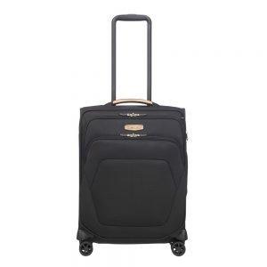 Samsonite Spark SNG Eco Spinner 55/40 eco black Zachte koffer