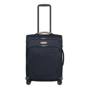 Samsonite Spark SNG Eco Spinner 55/40 eco blue Zachte koffer
