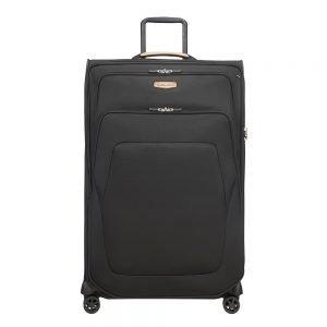 Samsonite Spark SNG Eco Spinner 79 Expandable eco black Zachte koffer