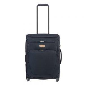 Samsonite Spark SNG Eco Upright 55 Expendable Toppocket eco blue Zachte koffer