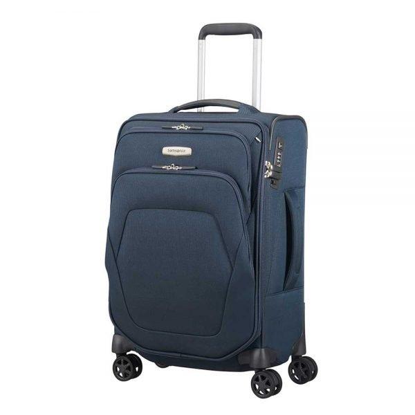 Samsonite Spark SNG Spinner 55 Length 35 blue Zachte koffer