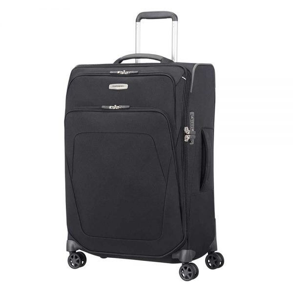 Samsonite Spark SNG Spinner 67 Expandable black Zachte koffer