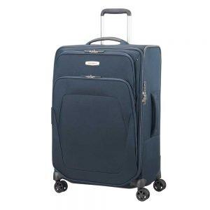 Samsonite Spark SNG Spinner 67 Expandable blue Zachte koffer