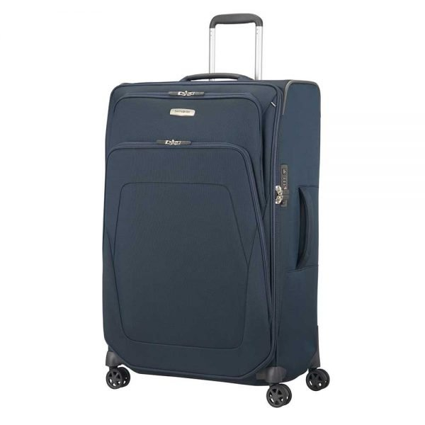 Samsonite Spark SNG Spinner 79 Expandable blue Zachte koffer