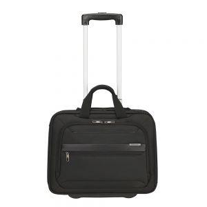 Samsonite Vectura Evo Business Case / Wheels 15.6'' black Zachte koffer