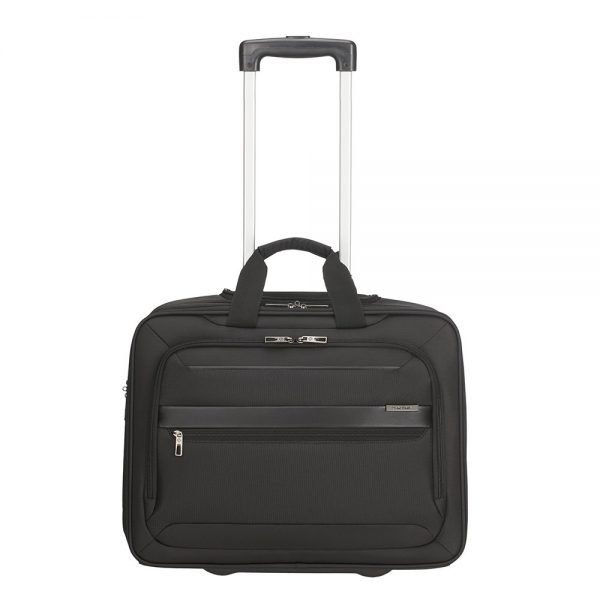Samsonite Vectura Evo Rolling Tote 17.3'' black Zachte koffer