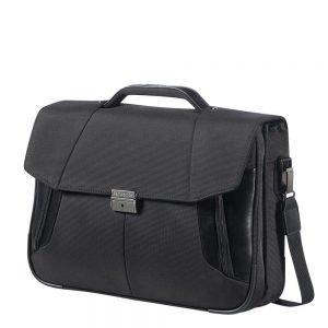 Samsonite XBR Briefcase 2 Gussets 15.6'' black