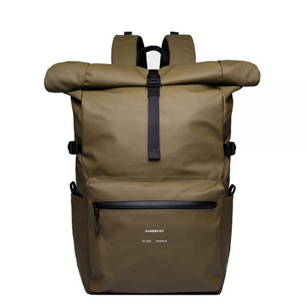 Sandqvist Ruben Backpack dark olive backpack