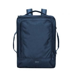 Sandqvist Tyre Travel Backpack navy Weekendtas