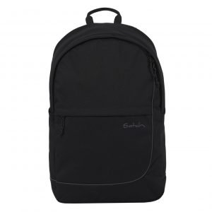 Satch Fly School Rugzak all black