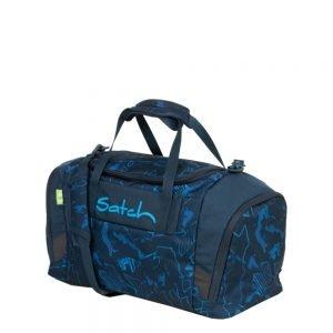 Satch Sport Duffle blue compass Weekendtas