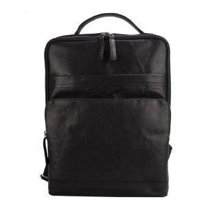 Spikes & Sparrow Backpack black II Leren tas