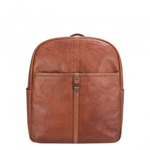 Spikes & Sparrow Backpack brandy Leren tas