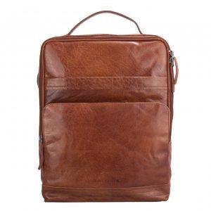Spikes & Sparrow Backpack brandy II Leren tas