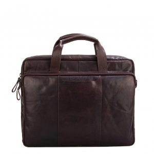 Spikes & Sparrow Briefcase dark brown II