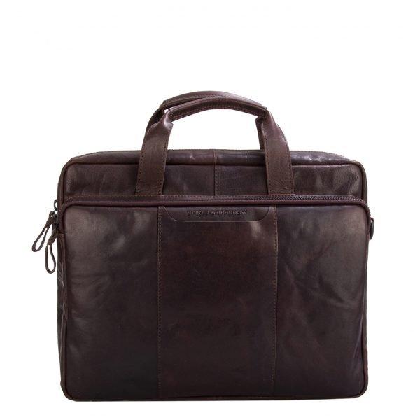 Spikes & Sparrow Briefcase dark brown II