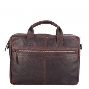 Spikes & Sparrow Briefcase dark brown