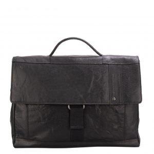 Spikes & Sparrow Bronco Briefcase black