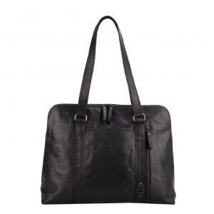 Spikes & Sparrow Laptop Shoulderbag black