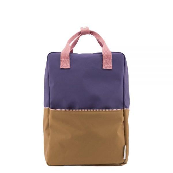 Sticky Lemon Colourblocking Backpack Large panache gold lobby purple puff pink Kindertas