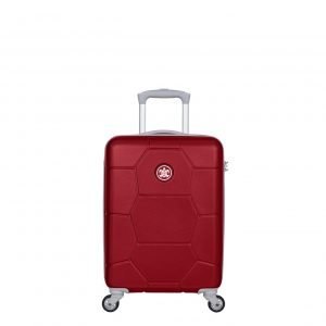 SuitSuit Caretta Trolley 53 red cherry Harde Koffer