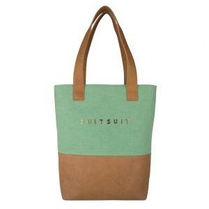 SuitSuit Fab Seventies Upright Bag Duo basil green Damestas