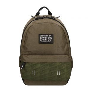 Superdry Montana Neoprene Emboss Panel Backpack khaki