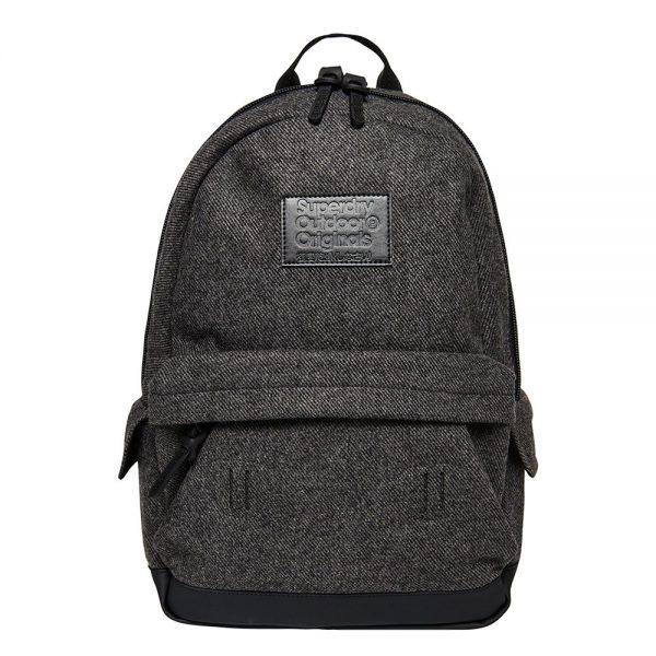 Superdry Montana Woolly Backpack dark grey