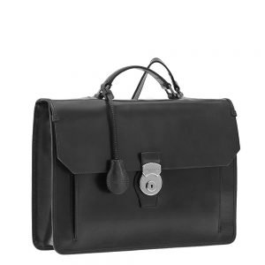 The Bridge Montecristo Briefcase black Aktetas