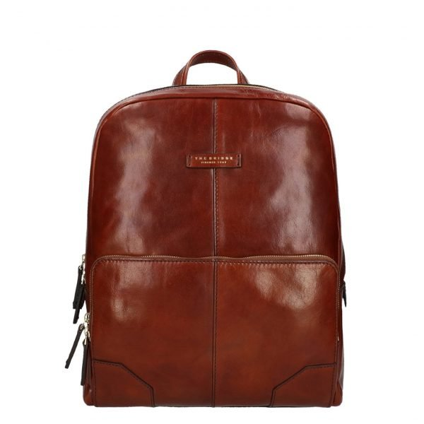The Bridge Vespucci Backpack brown backpack