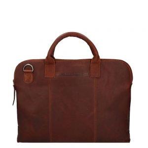 The Chesterfield Brand Cardiff Laptoptas brown