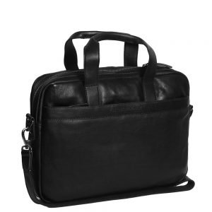 The Chesterfield Brand Dean Laptop Bag black