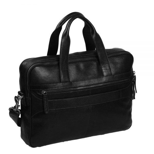 The Chesterfield Brand Duke Laptop Bag black