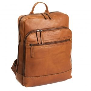 The Chesterfield Brand Hayden Laptop Backpack cognac backpack