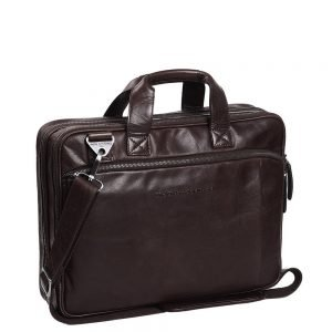 The Chesterfield Brand Manuel Laptop Bag brown