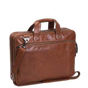 The Chesterfield Brand Manuel Laptop Bag cognac