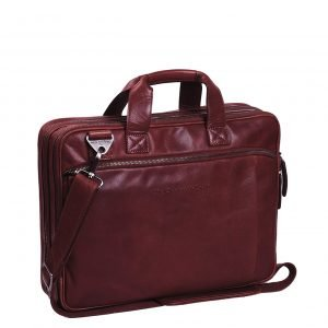 The Chesterfield Brand Manuel Laptop Bag red