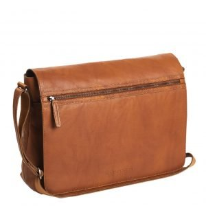 The Chesterfield Brand Marley Laptop Shoulderbag cognac