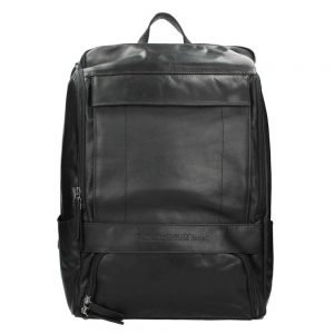The Chesterfield Brand Rich Laptop Backpack black backpack