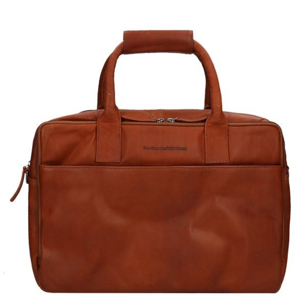 """The Chesterfield Brand Specials 17"""" Laptopbag cognac"""