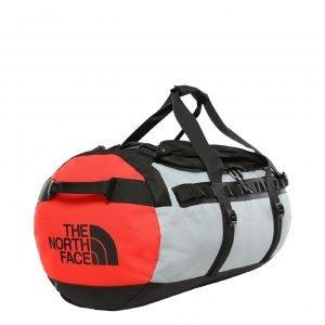 The North Face Gilman Duffel M tnf black / mid grey / fiery red Weekendtas