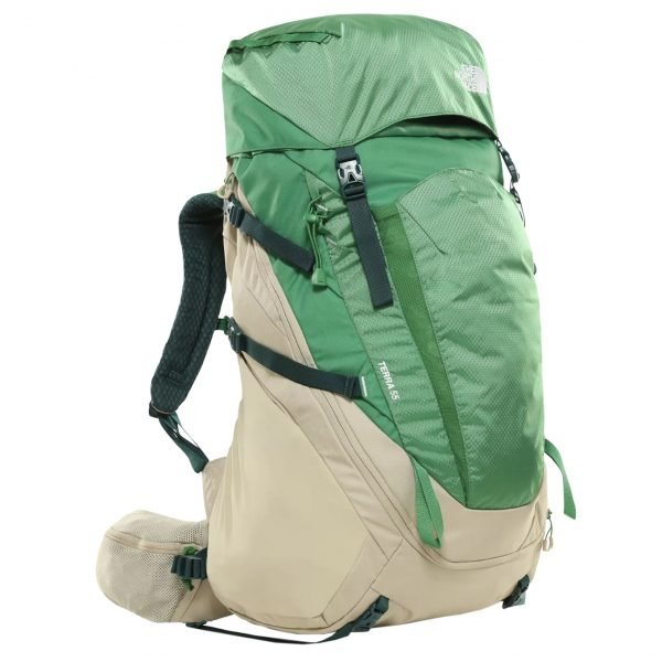 The North Face Terra 55 Backpack L/XL twill beige / sullivan green backpack