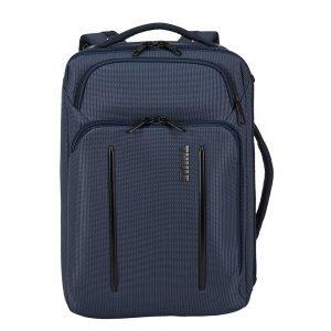 "Thule Crossover 2 Convertible Laptop Bag 15.6"" dark blue backpack"