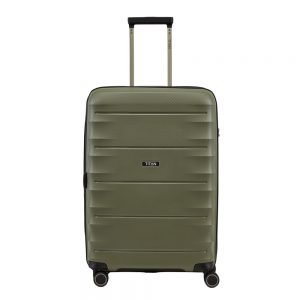 Titan Highlight 4 Wiel Trolley M Expandable khaki Harde Koffer