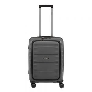 Titan Highlight 4 Wiel Trolley S Front Pocket anthracite Harde Koffer