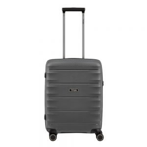 Titan Highlight 4 Wiel Trolley S anthracite Harde Koffer