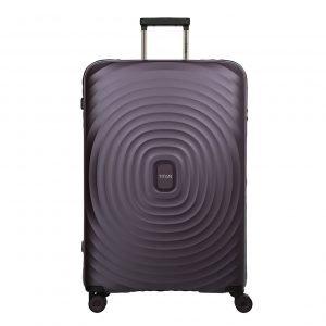 Titan Looping 4 Wiel Trolley L purple Harde Koffer